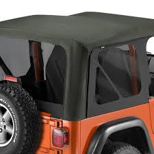 jeep soft top open bestop replace a top fabric only soft top