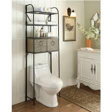 Bathroom In Black Amazon Com 4d Concepts Windsor 3 Shelf Spacesaver In Black