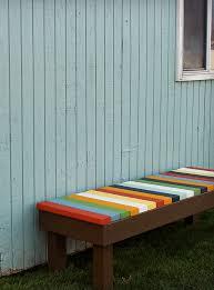 gorgeous outdoor bench colors 10 yellow garden ideas walls