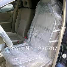 housse plastique siege auto 10 pcs auto service de réparation de voiture en plastique jetables