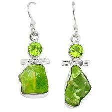 Peridot Chandelier Earrings Peridot Earrings Fine Peridot Gemstone Earrings Collection