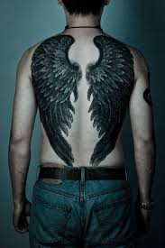 wing tattoos on back 27 famous wings back tattoos tattoo fantastic