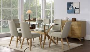 large glass top dining table visually glass top dining table table design