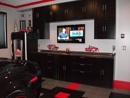kitchen cabinet garage door cabinets ideas garage workbench inexpensive please cool loversiq