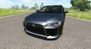 mitsubishi evolution 2014 mitsubishi lancer evolution x for beamng drive