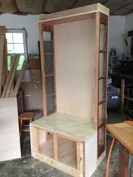 Tables Made From Doors by Ana White Halltree Made From Old Door Sidelights Diy Projects