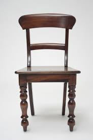 colonial style chairs hand carved mahogany side chairs rail
