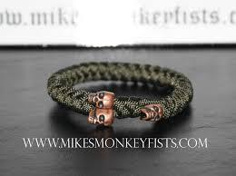skull bracelet bead images Custom paracord bracelet with metal skull beads gif