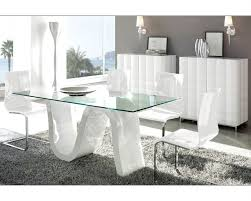 dining room table set modern dining room set made in spain wave 3323wv