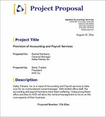 accounting payroll services proposal template business proposa