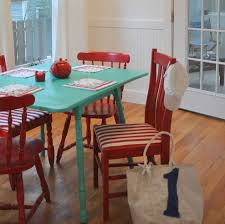 Painted Dining Table Ideas Colorful Dining Room Table Ideas With Painted Table Dining