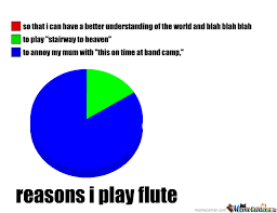 Flute Memes - the reasons i play flute by willow grove meme center