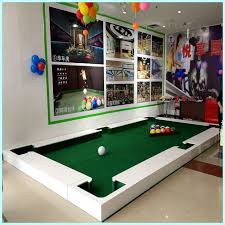 amazon com ibigbean poolball table set 6 6x3 6x0 2m sports