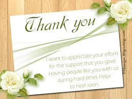 thank you for funeral flowers funeral thank you notes 365greetings