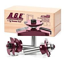 router bits for cabinet door making a g e series by amana tool md508 shaker raised panel cabinet door