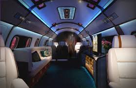 Luxury Private Jets Luxury Skyacht Incredible Private Jet With A Queen Bed Interior