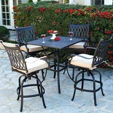 target patio furniture bar height patio table umbrella large size of