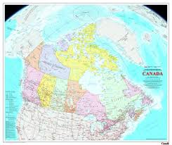 map of canada atlas wall maps resources canada