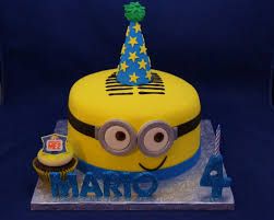 minion birthday cake gallery custom cake toppers cake in cup ny