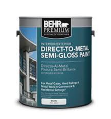 Exterior Metal Paint - behr premium direct to metal semi gloss paint professional paint