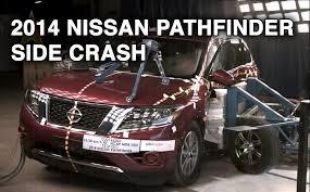 nissan pathfinder 2014 youtube 2014 nissan pathfinder side crash test crashnet1 youtube