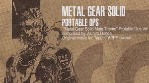 metal gear solid portable ops main theme a k a showtime extended