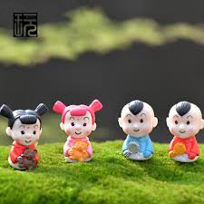 New Year Garden Decoration by Cartoon Doll A Couple Of Baby New Year Children Action U0026 Toy