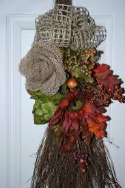 Halloween Wreaths Pinterest by 18 Best Cinnamon Broom Crafts Images On Pinterest Halloween