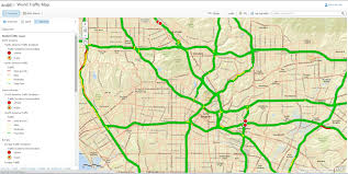 traffic map arcgis 10 1 how to display two line traffic road map