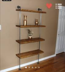 how to build an industrial pipe shelving unit diywithrick