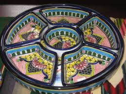 painted serving platters talavera pottery painted serving platters at mi casa gallery