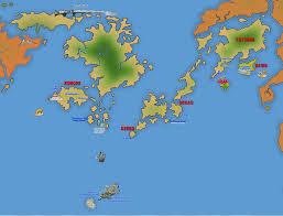 Blue World Map by All Blue Map One Piece New World Shinsekai By Kiwik2010 On Deviantart