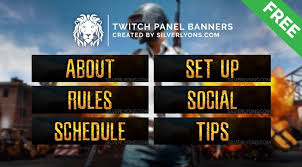 pubg twitch pubg cover twitch panels silverlyons sellfy com