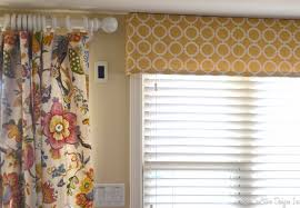 modern window valances for living room drapes treatments yellow