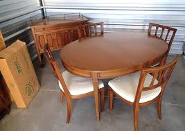 Mid Century Modern Dining Chairs Vintage Mid Century Modern Dining Room Table And Chairs U2013 Namju Info