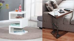 Cherry Side Tables For Living Room Small End Tables Living Room Modern Side Ideas Thedailygraff