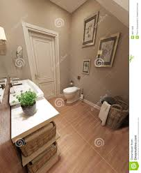 provence style bathroom in provence style stock illustration image 48271568