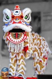 new year lion costume and lion culture entertainment