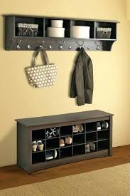 rack corner coat rack bench articles with label exciting hall