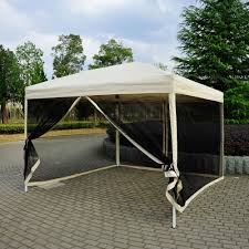 pop up gazebo canopy with screen pop up gazebo canopy in