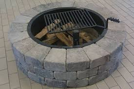 Stone Fire Pit Kit by Firepits U0026 Accessories
