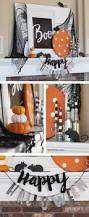 halloween decoration ideas for your mantel landeelu com it s a little spooky a little cute and a ton of fun boo free