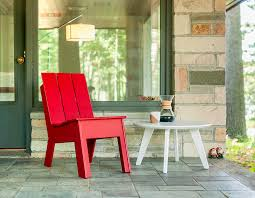 Tall Outdoor Table Tall Outdoor Modern Patio Chair Without Arms Loll Designs