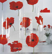 Shower Curtain Beads by Red Flower Shower Curtain U2022 Shower Curtain