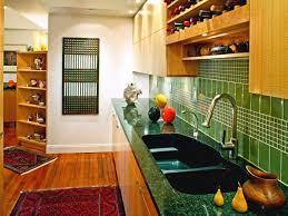 green tile backsplash kitchen home design ideas