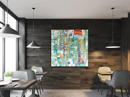 abstract painting hotel art gallery art large abstract painting