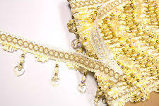 Beaded Fringe For Curtains Crystal Fringe Trimmings Ebay