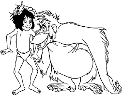 46 jungle book coloring pages images jungles