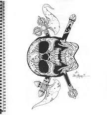 23 best tiger skull tattoos images on pinterest skull tattoos