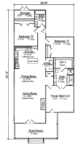 small 3 bedroom house floor plans 2 layouts lrg 7f5699b01300d067